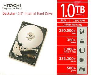 Il disco Hitachi da 1TB