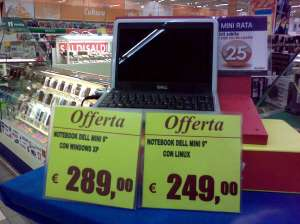 Offerta Carrefour Dell Mini 9